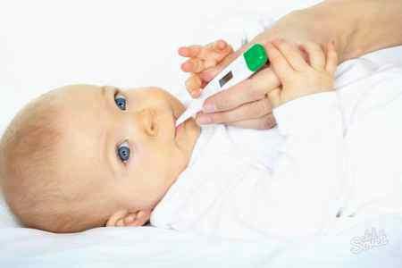 Ребенок 4 месяца температура