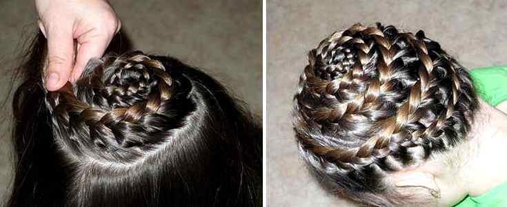 Косички детям плетение на средние волосы