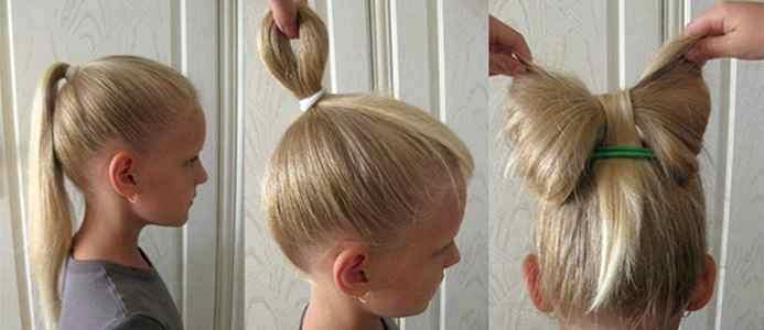Украсим волосы бантами